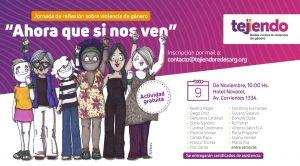 "Jornada de reflexión sobre violencia de género. ""Ahora que si nos ven"" @ Hotel Novotel"